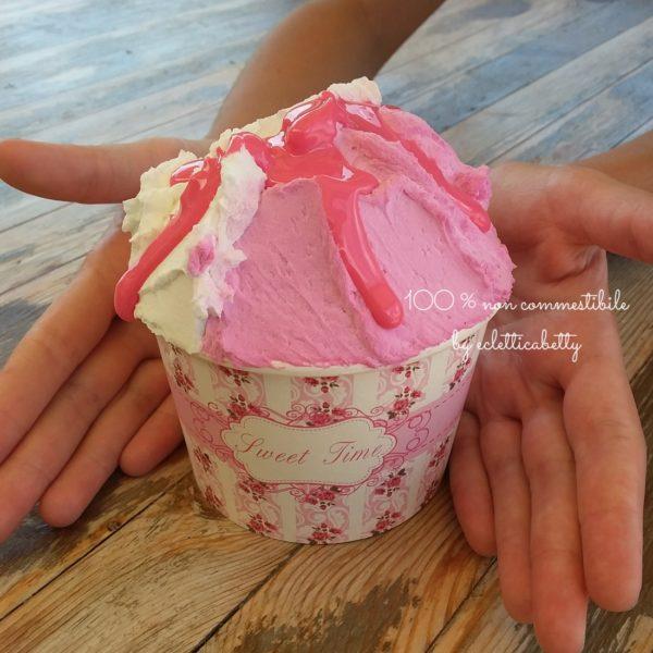 Coppetta gelato Fragola e Fiordilatte F