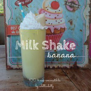Milk shake Banana