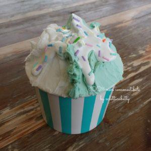 Coppetta gelato Menta e Fiodilatte R verde