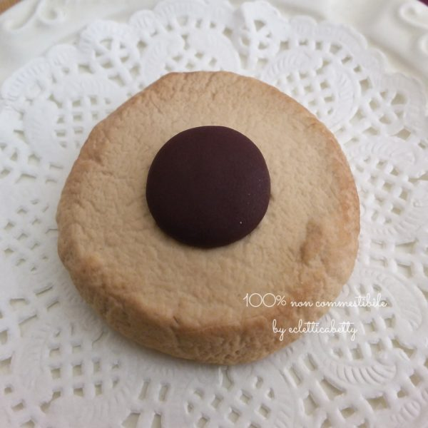 Biscotto con bottoncino