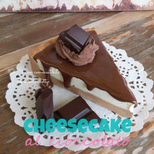 Fetta di Cheesecake con cioccolatino