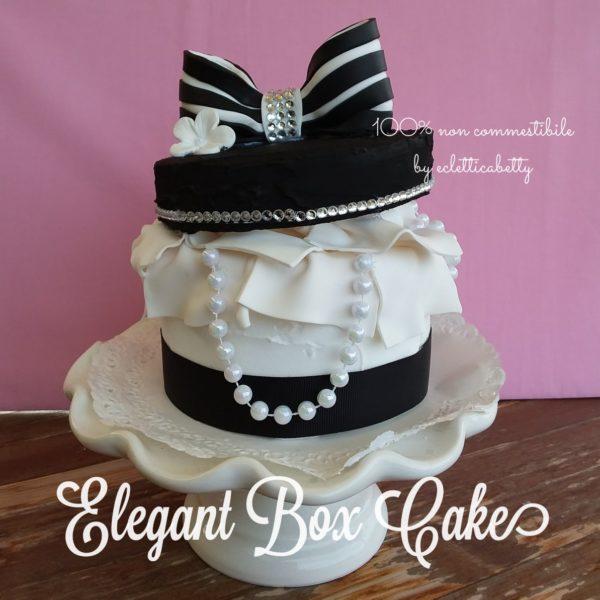 Elegant Box Cake 12 cm