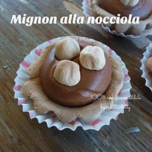 Mignon cioccolato e nocciole