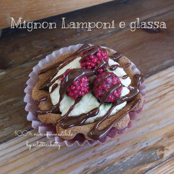 Mignon lamponi e glassa