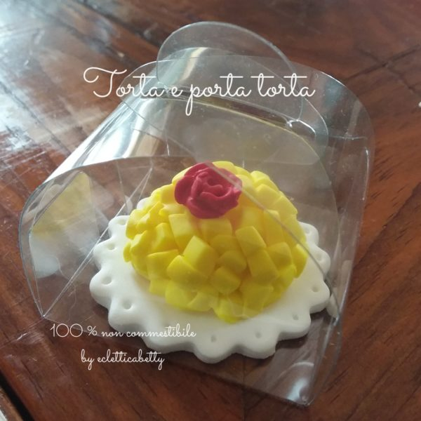 Porta torta 5 x 5 cm per torta in miniatura