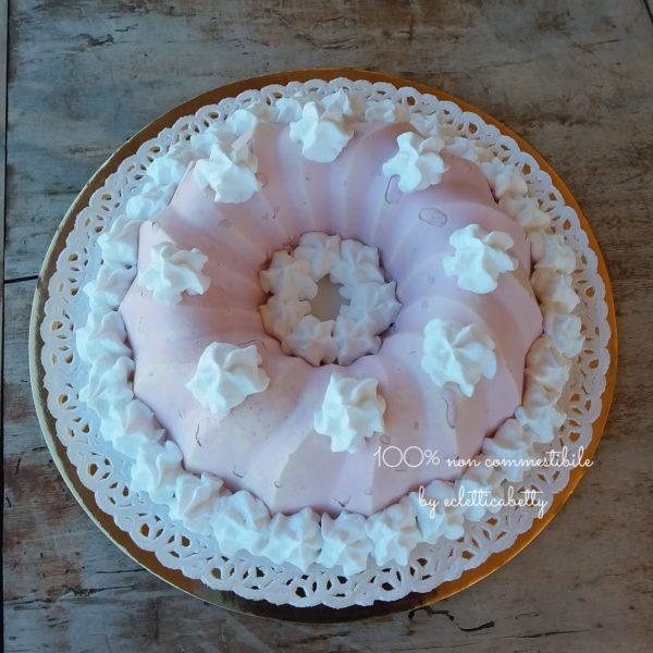Budino alla rosa 20 cm