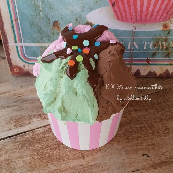 Coppetta gelato Trigusto r rosa