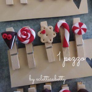 Mollettina con dolcetto natalizio 1 pz