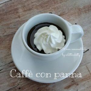 Tazzina di Caffè con panna