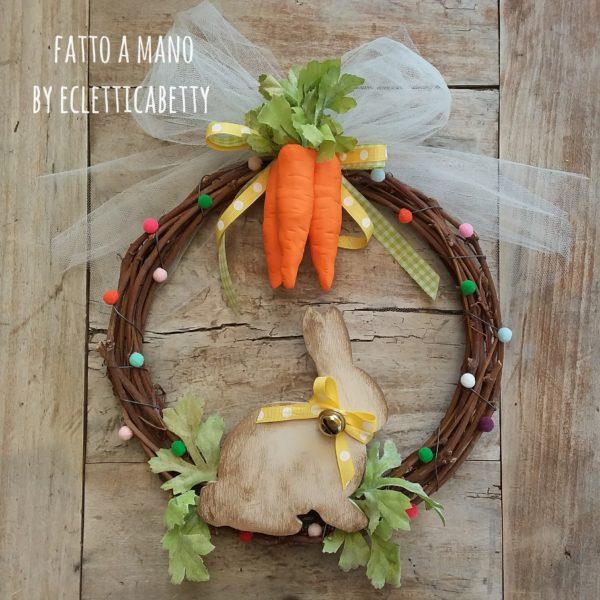 Ghirlanda Rabbit & Carrots