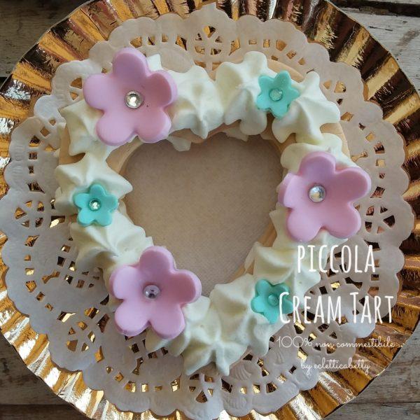 Piccola Cream Tart 8 cm