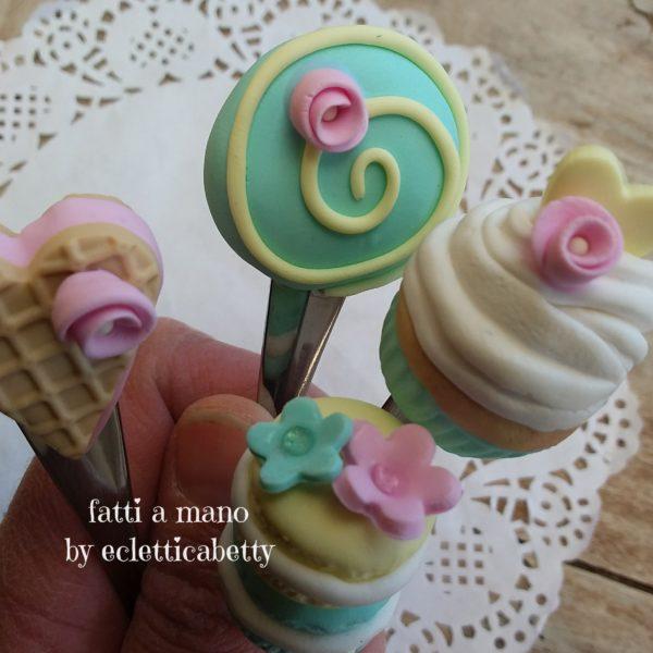 Set di 4 Cucchiaini Mood Pastel
