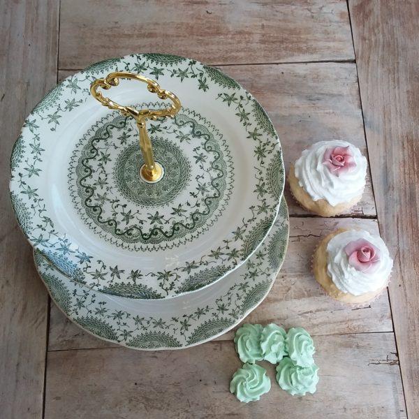 Alzatina Green Vintage