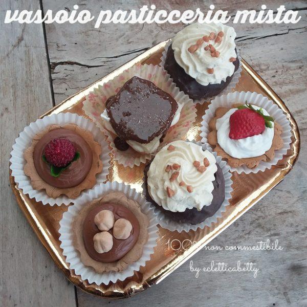 Choco & Vaniglia Vassoio Pasticceria mista