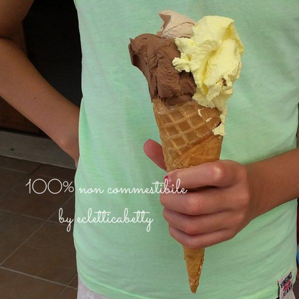 Maxi Cono gelato crema, nocciola e cioccolato