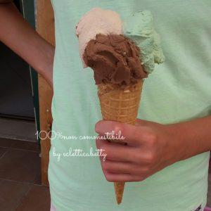 Maxi Cono gelato pistacchio, nocciola e cioccolato