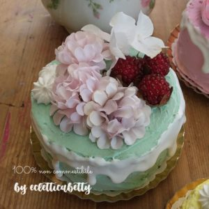 Bijou Cake verde pastello 10 cm