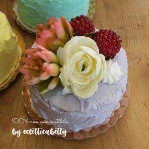 Petit Bijou lilla con fiori e frutti