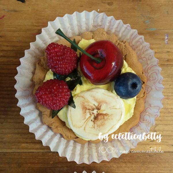 Crostatina frutti rossi e banana