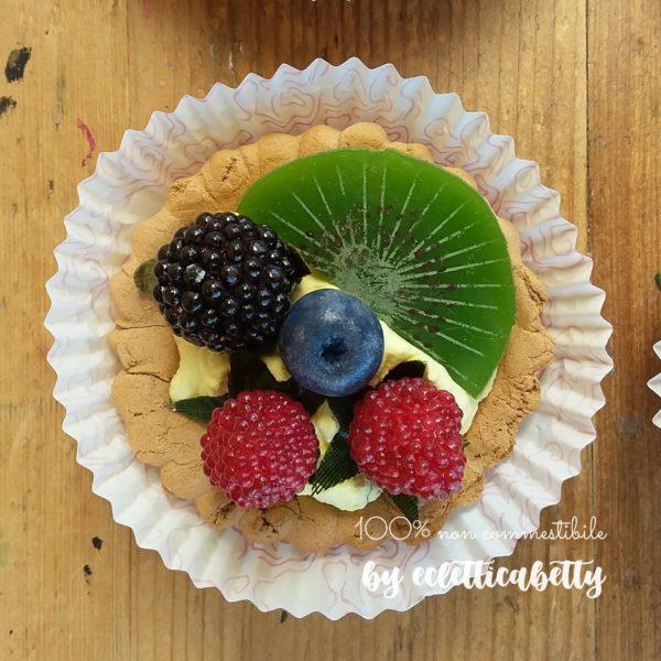 Crostatina frutti rossi e kiwi