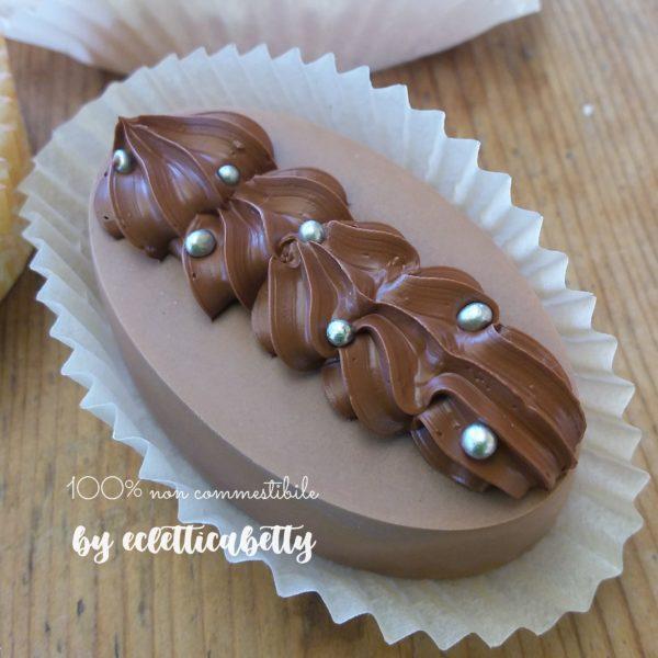 Petit four nocciola e cioccolato