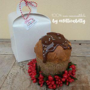 Piccolo Panettone con cioccolato Ghirlanda e Confezione regalo