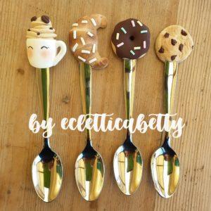 Set di 4 Cucchiaini Mood Caffetteria