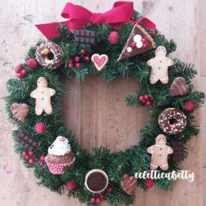 Ghirlanda maxi Dolce Natale