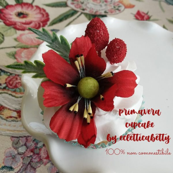 Primavera Cupcake rosso