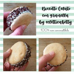 Biscotto Gelato con granella