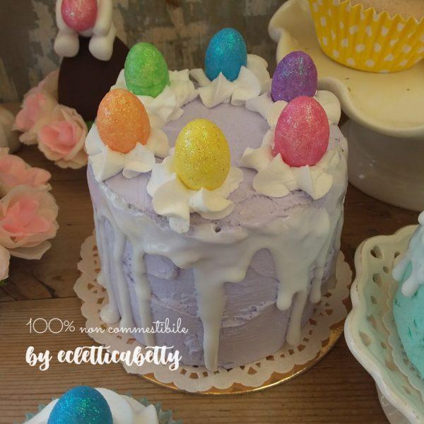 Torta di Pasqua lilla 10 cm