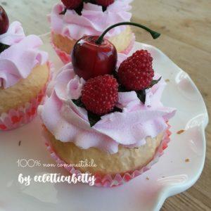 Cupcake Gourmandises frutti rossi