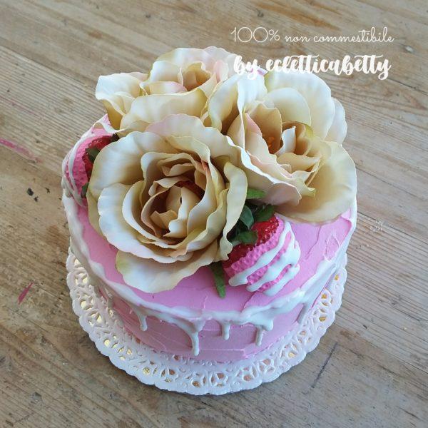 Torta Passione alle fragole 15 cm