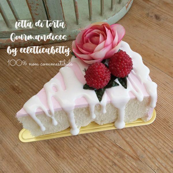 Fetta di torta Gourmandises