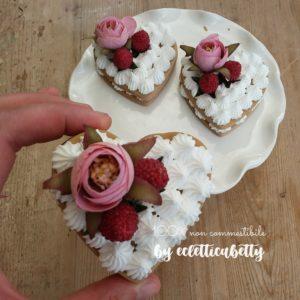 Amore Cream Tart 8 cm