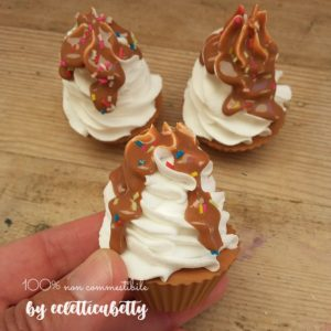 Piccolo Cupcake panna e caramello